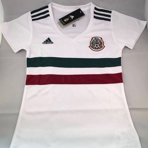 adidas Women Official Mexico Jersey World Cup Med